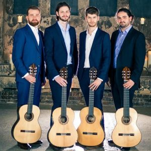 CD launch concert - Mēla guitar quartet @ St James's, Piccadilly | England | United Kingdom