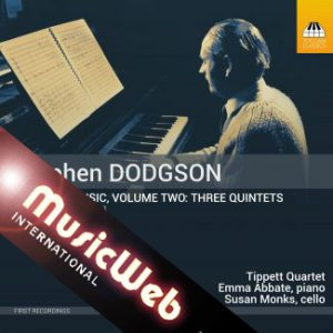 Quintets CD with MusicWeb banner