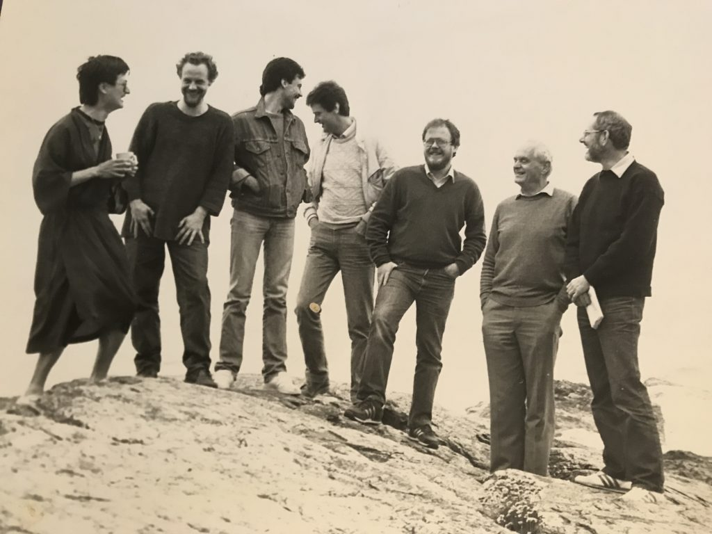 Gerald Garcia, John Canning, Paul Gregory, Stephen Gordon, Phillip Thorne, Stephen Dodgson and Martin Fleeson