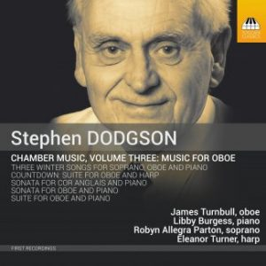 Stephen Dodgson Toccata oboe works CD