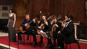 Mela Guitar Quartet launch concert - Dodgson guitar chamber works
