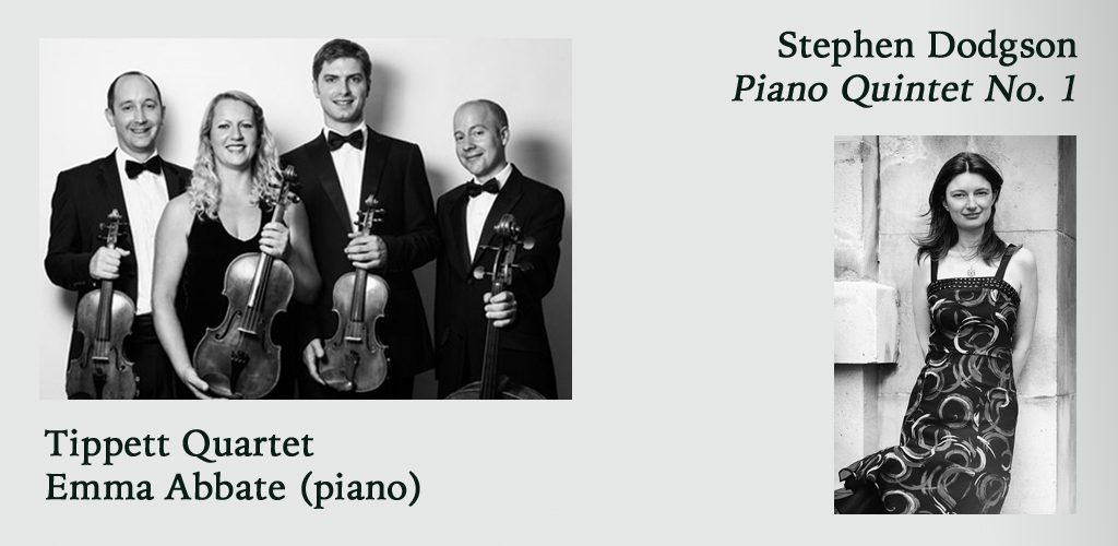 Piano Quintet – Emma Abbate & the Tippett Quartet @ Sevenoaks Music Club