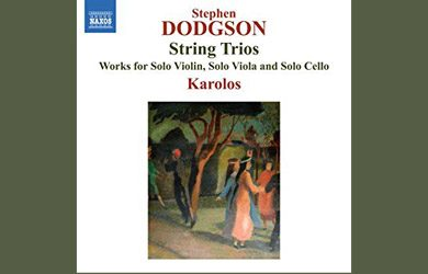 Karolos Dodgson trios recording