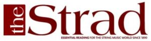 The Strad logo