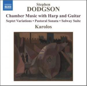 Guitar and harp chamber music recording cover
