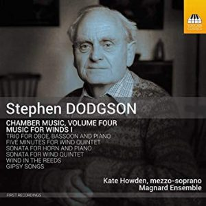 Magnard Ensemble – Dodgson music for winds recording