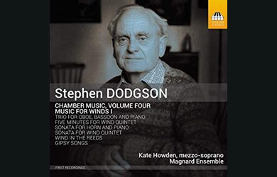 Magnard Ensemble: Dodgson Music for Winds recording