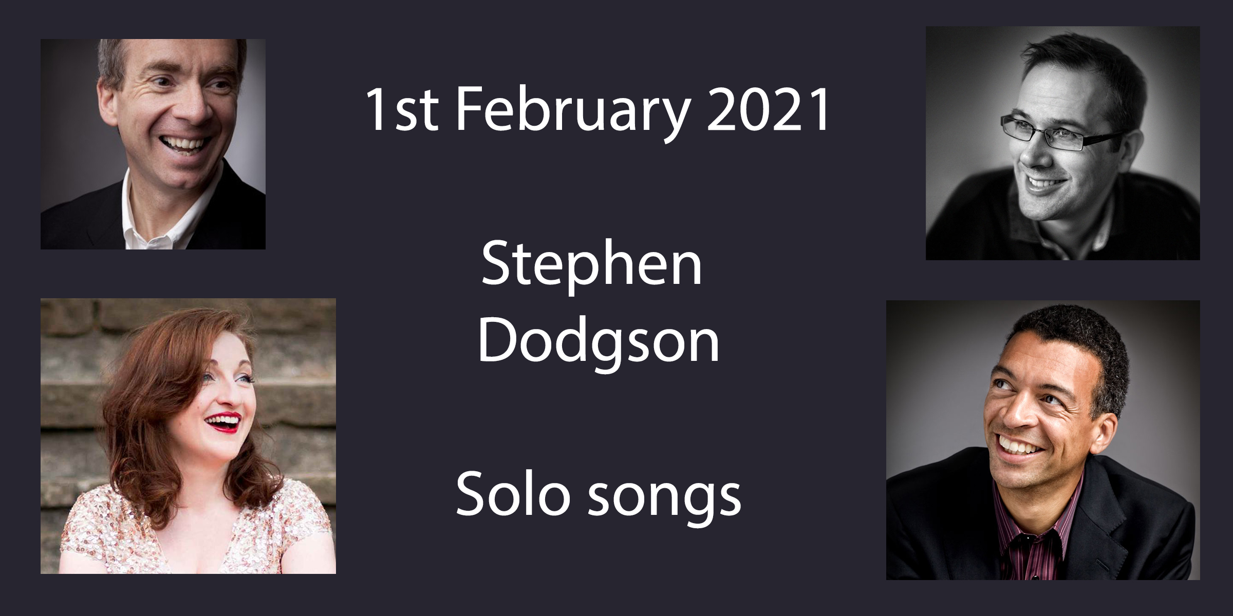 Dodgson – solo songs @ St Gabriel's Pimlico (streamed only)
