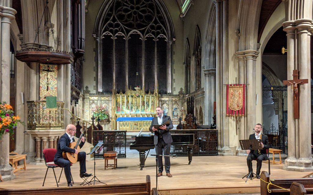 Mark Eden, Marcus Farnsworth and Ian Wilson – Dodgson solo song concert