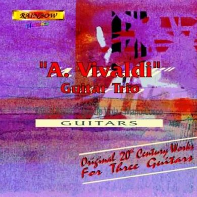 Guitar Works for Three Guitars (inc. Dodgson)