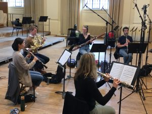 The Magnard Ensemble recording Cadilly